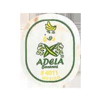 ADELA Bananas # 4011  0 x 0 mm paper 2017 ŽT Mexico unique