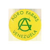 AGRO FARMS  25,4 x 24,5 mm paper 2012 KČ Venezuela unique