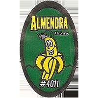 ALMENDRA # 4011  0 x 0 mm paper 2017 ŽT Mexico unique