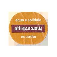 altromercato equo e solidale  26,5 x 22,1 mm paper 2013 J Ecuador unique