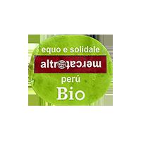 altromercato BIO  26,2 x 22 mm paper Peru 2015 J unique
