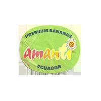 amanti PREMIUM BANANAS  23,5 x 18,6 mm paper before 2009 J Ecuador unique