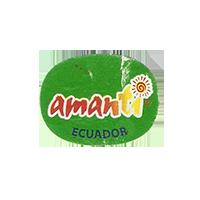 amanti  23,3 x 18 mm paper 2012 M Ecuador unique