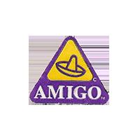AMIGO C  22,2 x 18,6 mm paper before 2012  unique