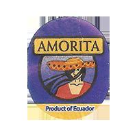 AMORITA  0 x 0 mm paper 2017 ŽT Ecuador unique