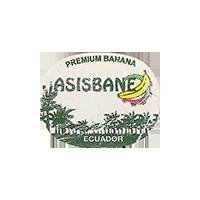 ASISBANE PREMIUM BANANA  27,7 x 22 mm paper 2015 WF Ecuador unique