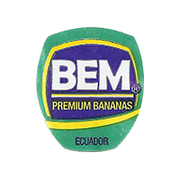 BEM PREMIUM BANANAS  20,2 x 23,3 mm paper 2015 J Ecuador unique