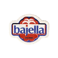 bajella  26,7 x 20,3 mm paper before 2012 Colombia unique