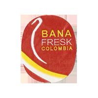 BANA FRESK  21,7 x 26,7 mm paper 2012 M Colombia unique