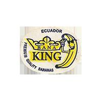 BANA KING PREMIUM QUALITY BANANAS  23,8 x 18,1 mm paper 2012 M Ecuador unique
