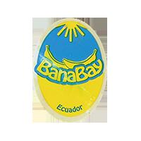 BanaBay  20 x 27,5 mm plastic 2015 WF Ecuador unique