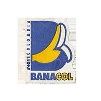 BANACOL #4011  19,9 x 25,1 mm paper before 2009 J Colombia unique