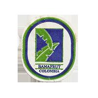 BANAFRUT  22,3 x 26,7 mm paper before 2012  Colombia unique