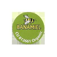 BANAMIEL CU 812661 Organic  22,2 x 22,2 mm paper before 2012 J unique