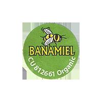 BANAMIEL CU 812661 Organic  21,5 x 21,5 mm paper before 2012 J unique