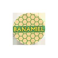 BANAMIEL  21,5 x 21,5 mm paper 2012 M unique