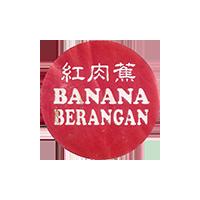 BANANA BERANGAN  0 x 0 mm paper 2018 M Malaysia unique