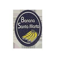 Banana Santa Marta  18,8 x 24,7 mm paper before 2012 unique