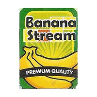 Banana Stream PREMIUM QUALITY  18,4 x 25,2 mm paper 2014 M unique