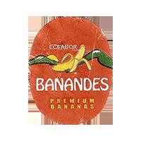 BANANDES PREMIUM BANANAS  18,1 x 23,2 mm paper 2015 KT Ecuador unique