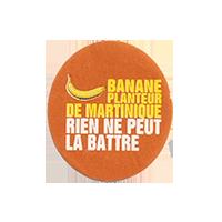 BANANE PLANTEUR DE MARTINIQUE RIEN NE PEUT LA BATTRE  22 x 24,9 mm paper 2012 DK France unique