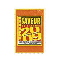SAVEUR DE L'ANNEE 2009  20 x 29,5 mm paper before 2012 France unique