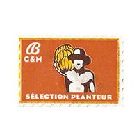 B G&M SELECTION PLANTEUR  29,8 x 20,2 mm paper before 2012 France unique