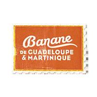 BANANE  de GUADELOUPE & MARTINIQUE  29,7 x 20,1 mm paper before 2012  France unique