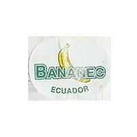 BANANEC  23,3 x 18,1 mm paper 2012 DK Ecuador unique