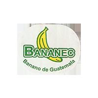 BANANEC Banano de Guatemala  25 x 19,8 mm paper 2012 J Guatemala unique