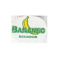 BANANEC  23,5 x 18,1 mm paper 2012 M Ecuador unique