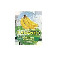 BANANEC PREMIUM BANANAS  18,2 x 23,3 mm paper 2014 M Ecuador unique