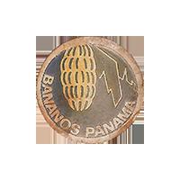 BANANOS PANAMA  18.8 x 18.8 mm paper 2017 MC Panama unique