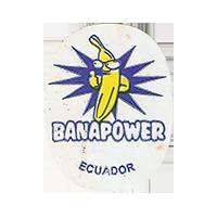 BANAPOWER  17,9 x 23,4 mm paper 2014 M Ecuador unique