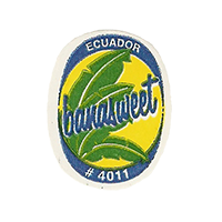 banasweet # 4011  22 x 28 mm paper before 2012 TL Ecuador unique