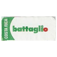 battaglio  36,5 x 16 mm paper 2013 J Costa Rica unique