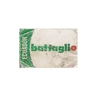 bataglio  25 x 17 mm paper 2016 KK Ecuador unique
