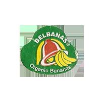 BELBANA'S Organic Bananas  22,3 x 18,9 mm paper 2014 NB unique