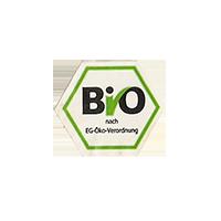 BIO  nach EG-Öko-Verordnung  19,5 x 16,7 mm paper before 2012 J unique