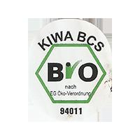 Bio KIWA BCS Nach EG Oko-Verordnung 94011  21,8 x 26,8 mm paper 2017 J unique