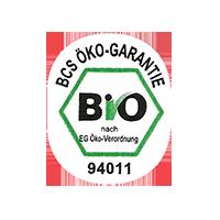 BIO  BCS ÖKO-GARANTIE 94011 nach EG-Öko-Verordnung  21,8 x 26,8 mm paper before 2012  unique