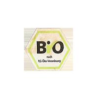 BIO  nach EG-Öko-Verordnung  19 x 17 mm paper 2012 DK unique