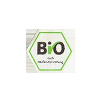 BIO  nach EG-Öko-Verordnung  19 x 16,8 mm paper before 2012 J unique