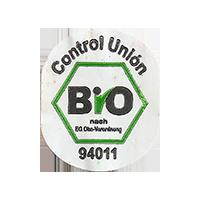 Bio  Control Union  22,5 x 26,9 mm paper 2016 JK unique