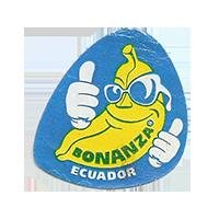 BONANZA  27,3 x 28,5 mm paper 2012 DK Ecuador unique