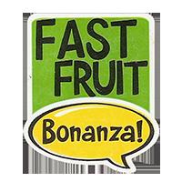 Bonanza! FAST FRUIT  28,8 x 34,4 mm plastic 2011 J unique