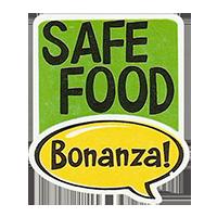 Bonanza! SAFE FOOD  28,8 x 34,4 mm plastic 2011 J unique