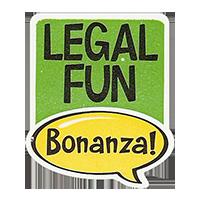 Bonanza! LEGAL FUN  28,8 x 34,4 mm plastic 2011 J unique