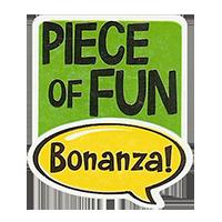 Bonanza! PIECE OF FUN  28,8 x 34,4 mm plastic 2011 J unique