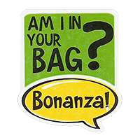 Bonanza! AM I IN YOUR BAG?  28,8 x 34,4 mm plastic 2011 J unique
